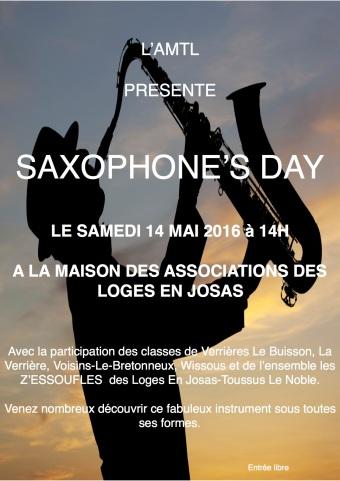 AMTL concert Saxos 14 mai 2016