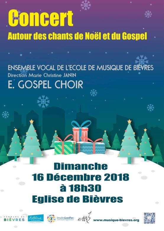 affiche concert Noel 2018